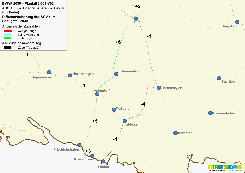 Bundesverkehrswegeplan 2030 – Projekt 2-001-v02