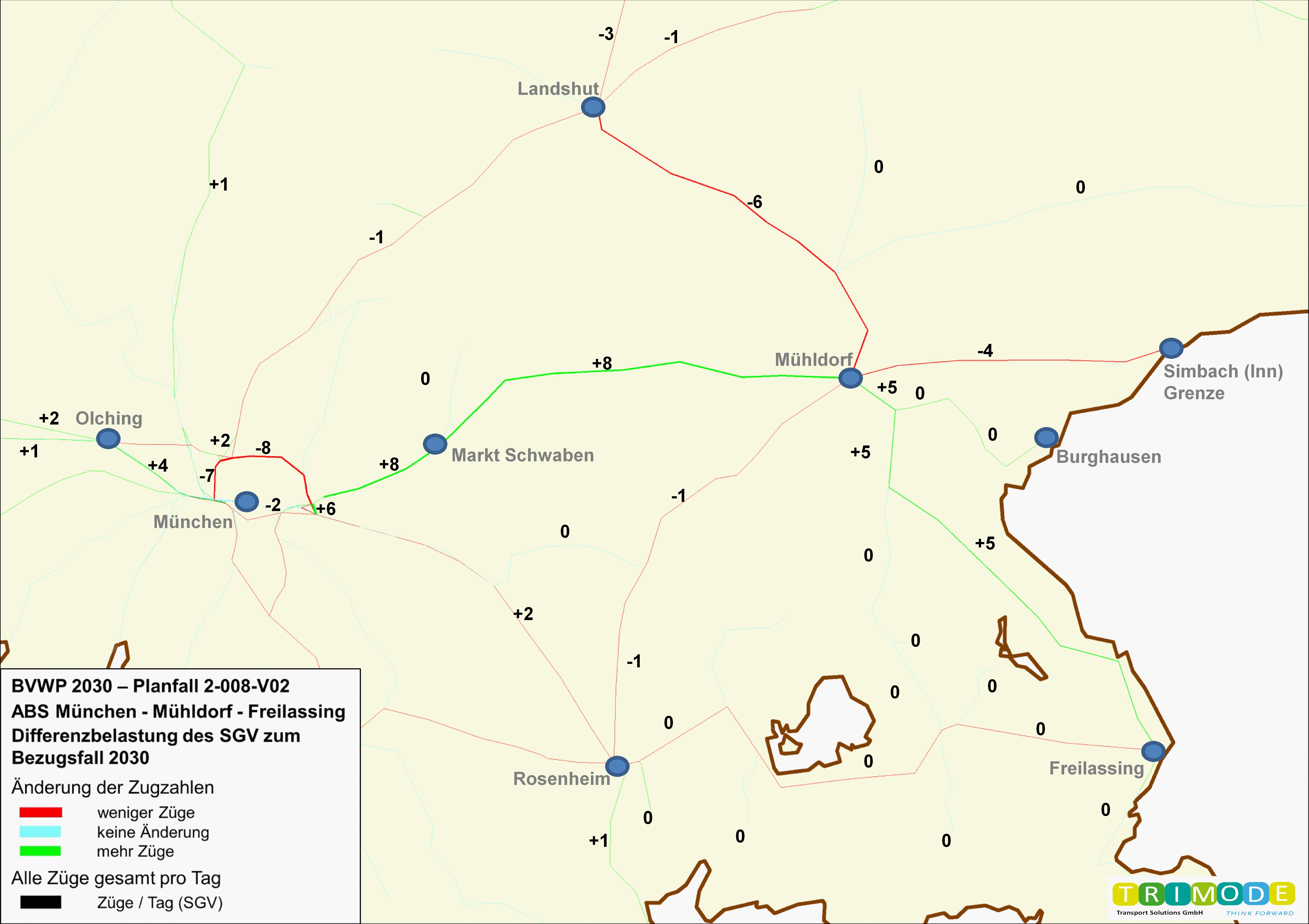 Bundesverkehrswegeplan 2030 – Projekt 2-008-V02