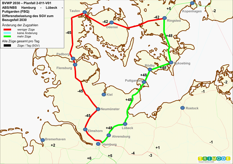 Bundesverkehrswegeplan 2030 – Projekt 2-011-V01