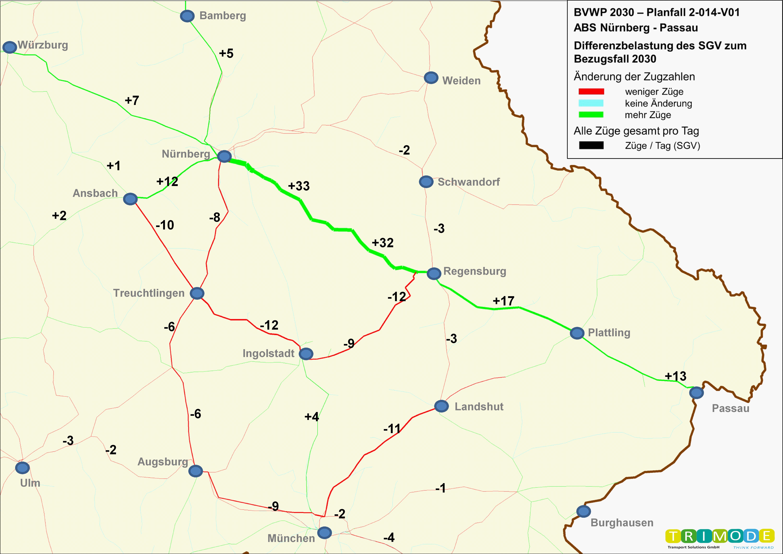 Bundesverkehrswegeplan 2030 – Projekt 2-014-v01